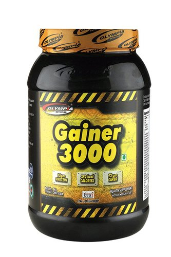Gainer 3000 Certifications: Iso:9001:2008