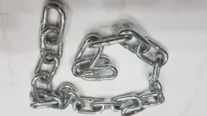 4mm And 5 Mm Rigid Galvanized Link Chain