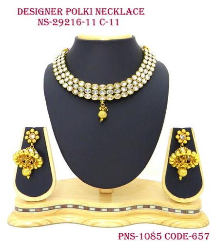 Antique Designer Polki Jewellery