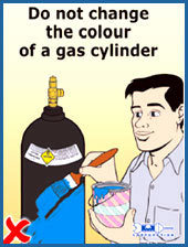 Cylinder Safety Posters in  Mahakali-Andheri (E)
