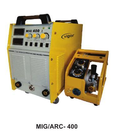 Inverter Based Mig Welding Machine (Mig/Arc- 400)