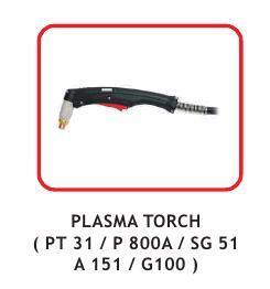 Plasma Torch ( Pt 31 / P 800A / Sg 51/ A 151 / G100 )