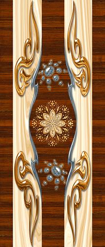 Decorative Door Skin in  Nikol