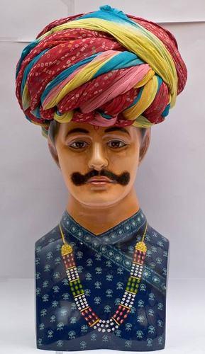 Indian Groom Turban Fabric