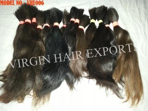 Raw Bulk Indian Virgin Human Hair