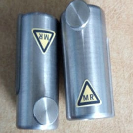 Tungsten Alloy Pet/Mr Syringe Shield With Lead Glass Window