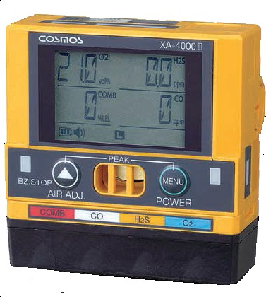 Portable Multigas Detector For 4 Gases Lel O2 Co H2s