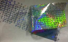 Void Pattern Tamper Evident Tapes