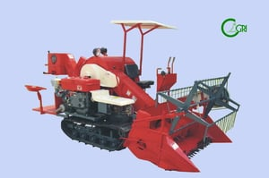 Wheat And Rice Combine Harvester (4LZ-136)