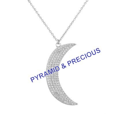 Cz Sterling Silver Necklace