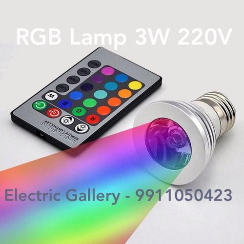Stylish RGB Lamp 3W 220V