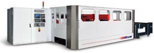 Linear Motorized CO2 Flying Optic Laser Cutting Workbench