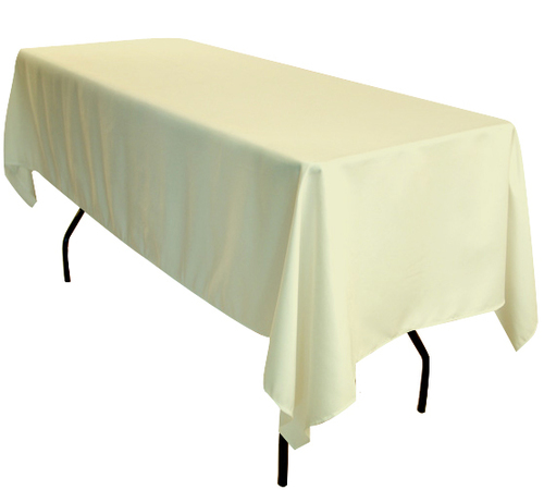 60x102inch Rectangular Polyester Table Cloth