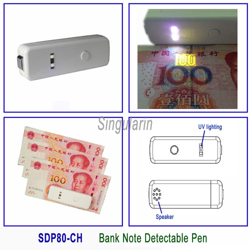 Bank Note Detectable Pen