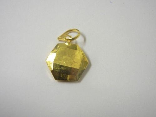 Full Gold Plated Pendant