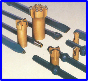 Cutting Drill Rods in  Cherlapally