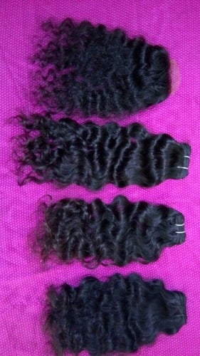Indian Human Hair - Curly