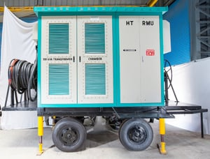 Trolley Mounted Compact Sub Station