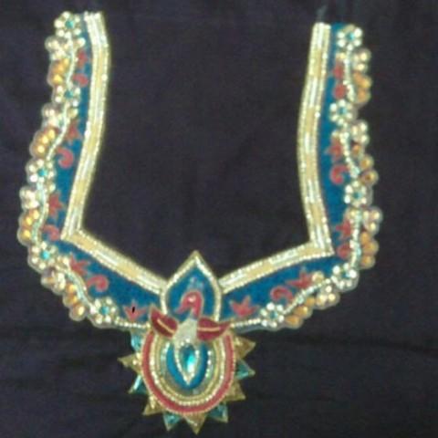 Designer Blouses Peacock