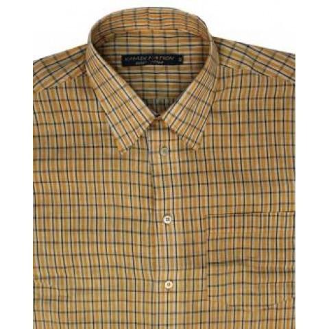 Khadi Nation Handwoven Checks Shirt