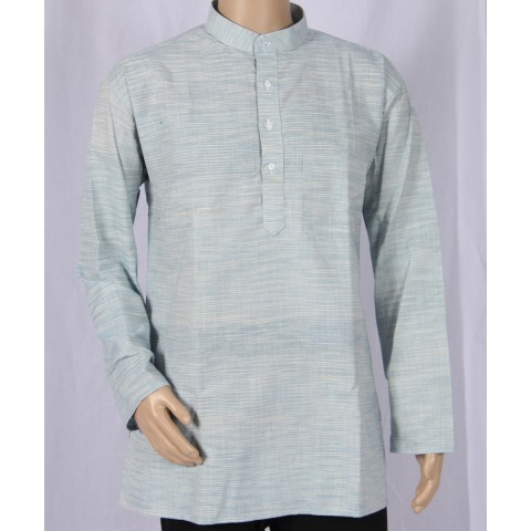 Khadi Nation Handwoven Full Sleeve Short Jubba