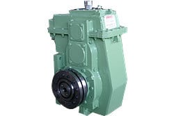 Material Handling Travel Drive Bevel Helical Gear Box