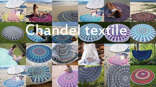 Mandala Round Tapestry Towels