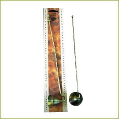 Earth Brass Candle Snuffer