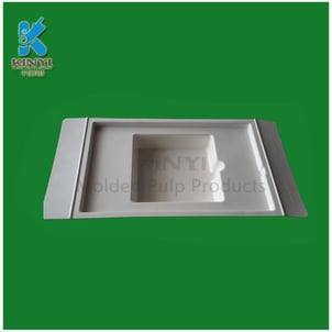 Recycled Paper Pulp Molded Customized Packaging Trays