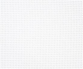Waffle White Fabric