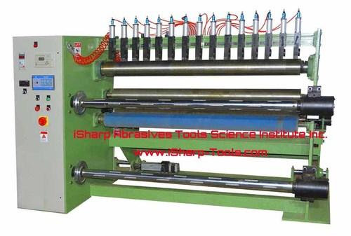 Abrasive Jumbo Roll Slitter Machine