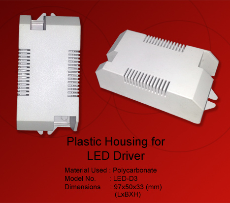 Led Drivers Plastic Housing in  Jhilmil Indl. Area (Shahdara)