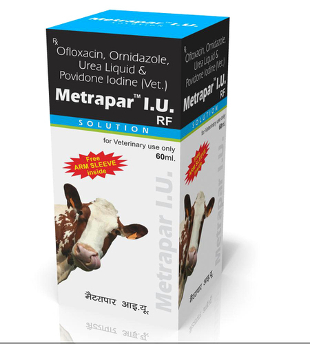 Ofloxacin Urea Liquid & Povidone Iodine (Vet.)