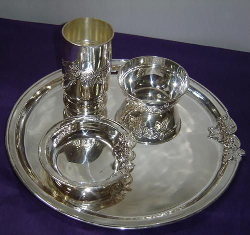 Hallmarked Silver Dinner Set in  Chandni Chowk