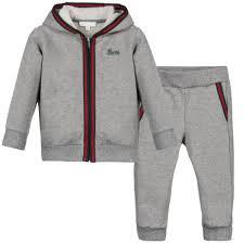 Grey Track Suit For Kids