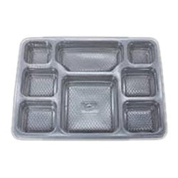 Partitioned Meal Tray