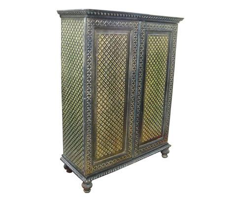 Wooden Carved Cabinet Gujarat Handicrafts No 372 Opposite