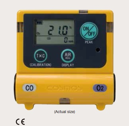 Personal Oxygen Co Detector