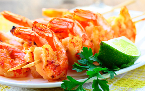 Barbeque Prawn