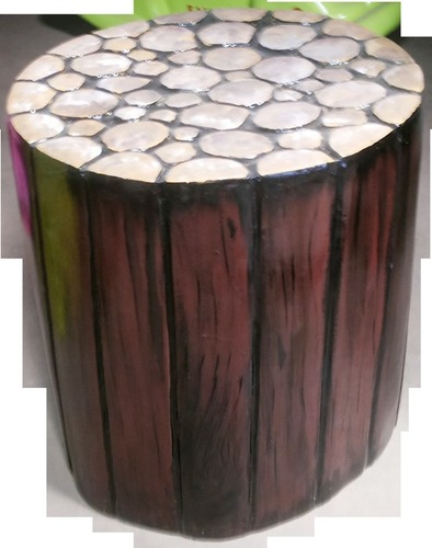 Wooden Colours Side Stool