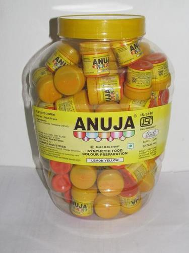 Lemon Yellow Food Colours