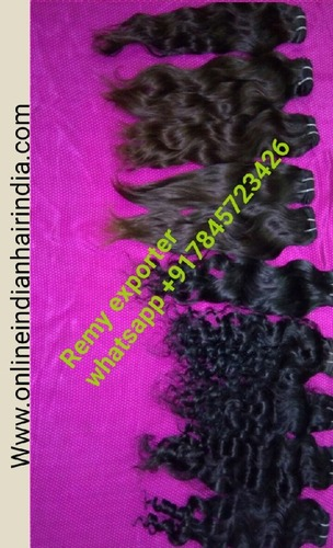 Indian Human Hair - Remy Exporter India