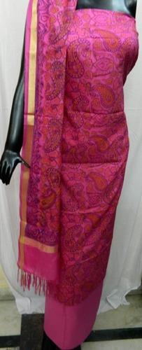 Kota Doria Ladies Casual Wear Suit