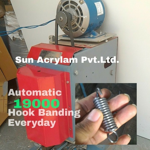 Hook Bending Machine