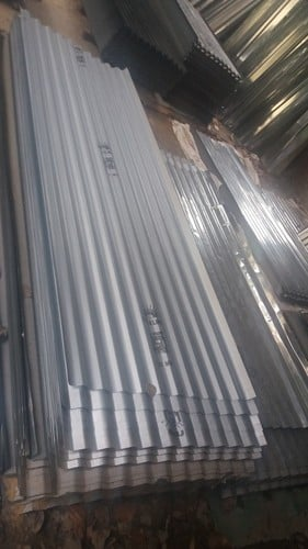 Roofing Asbestors with Shinning Plate