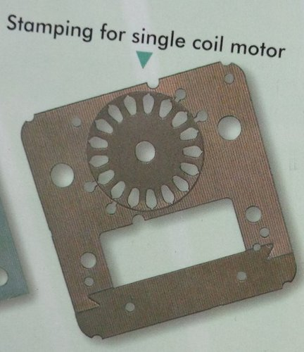 Stamping For Single Coil Motor