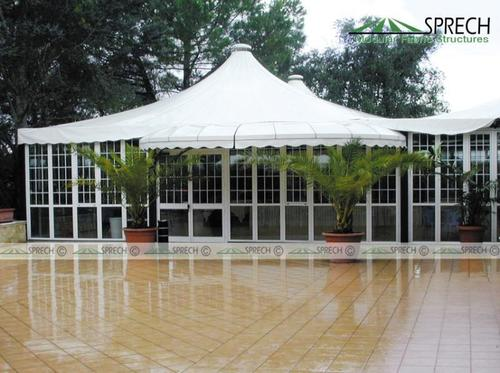 Tensile Structures for Lawn Areas