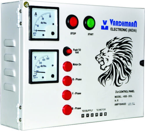 Industrial 3 Phase Dual Submersible Panel in  Naroda Road