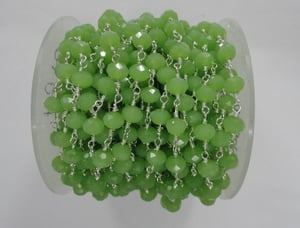 Prenite Hydro Faceted Rosary Beads