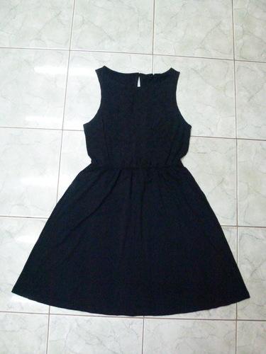 2641 Black One Piece Dress